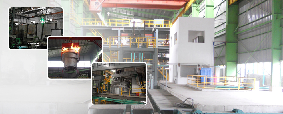 steel making line